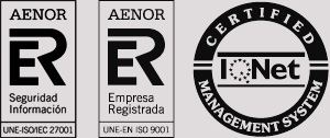 Logo de certificación Aenor