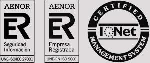 Logo de certificación Aenor