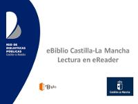 eBiblio Castilla-La Mancha. Lectura en eReader