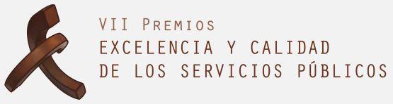Logotipo VII Premio a la Excelencia y Calidad de los Servicios Públicos JCCM