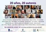 20 años, 20 autores