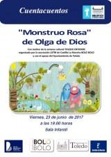 Cartel Monstruo Rosa