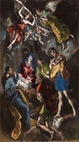 El Greco - Adoración de los pastores