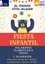 Fiesta infantil con el payaso Fito-Klown