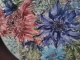 Flores en la cerámica