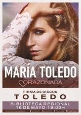 """María Toledo presenta su disco """"Corazonada"""""""
