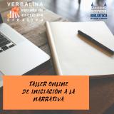 Taller online de iniciación a la narrativa