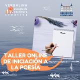 Taller online de iniciación a la poesía