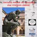 Tertulia virtual de filosofía con Federico Campoy