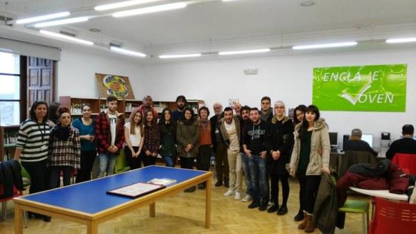 Alumnos Escuela de Arte Toledo