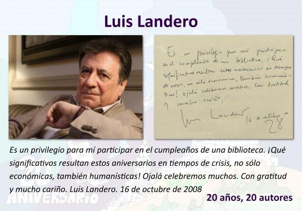 Luis Landero