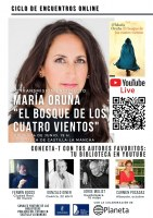 Conecta-T con tus autores favoritos: María Oruña